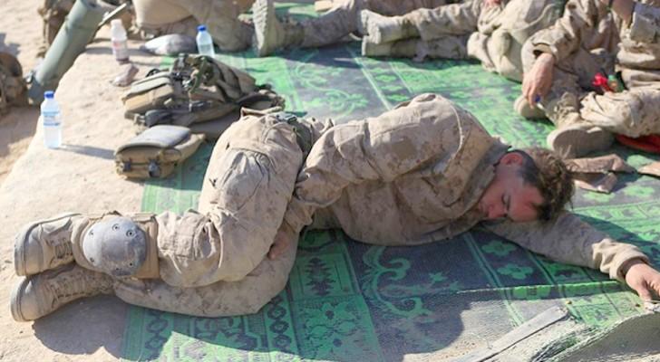Amerikaanse Marines gebruiken deze methode om binnen twee minuten in slaap te vallen onder welke omstandigheden dan ook