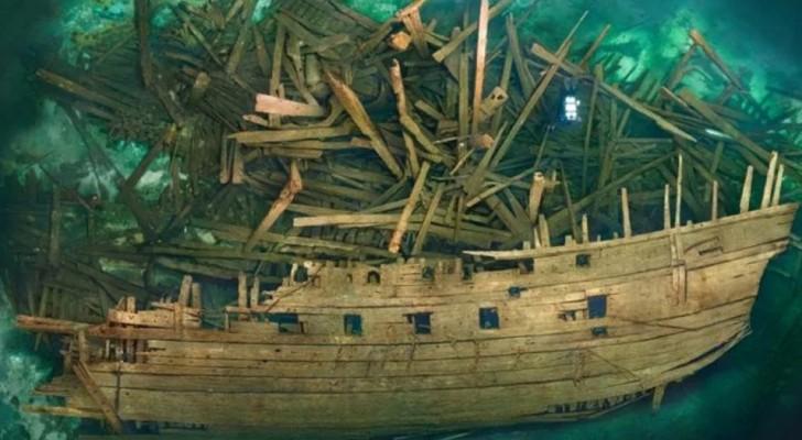 Ritrovata una nave del XVI secolo incredibilmente ben conservata