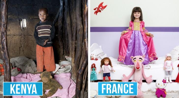 Un fotografo italiano gira il mondo ritraendo i bambini circondati dai loro beni più preziosi: ecco cosa ottiene