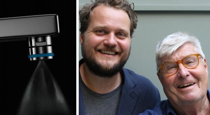 Un professore inventa insieme al genero un sistema domestico che riduce gli sprechi di acqua del 98%