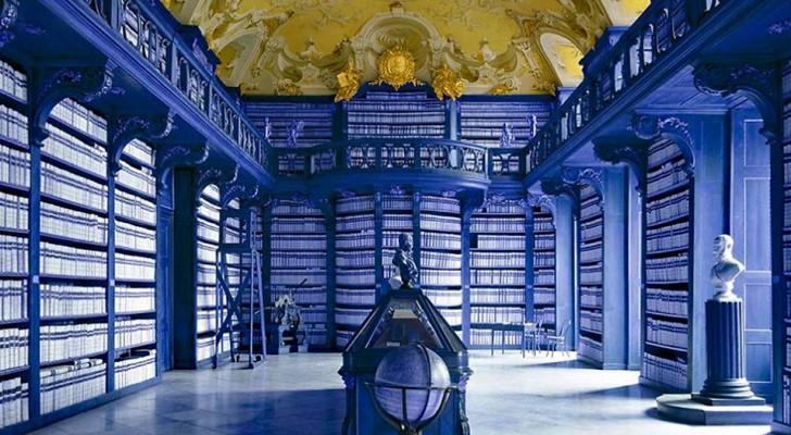 Un fotografo italiano si mette alla ricerca delle più belle biblioteche del mondo, e questo è ciò che ha trovato