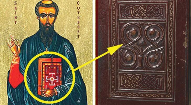 Il libro europeo più antico è intatto dopo 1300 anni... Così come il corpo del santo che lo teneva nella tomba