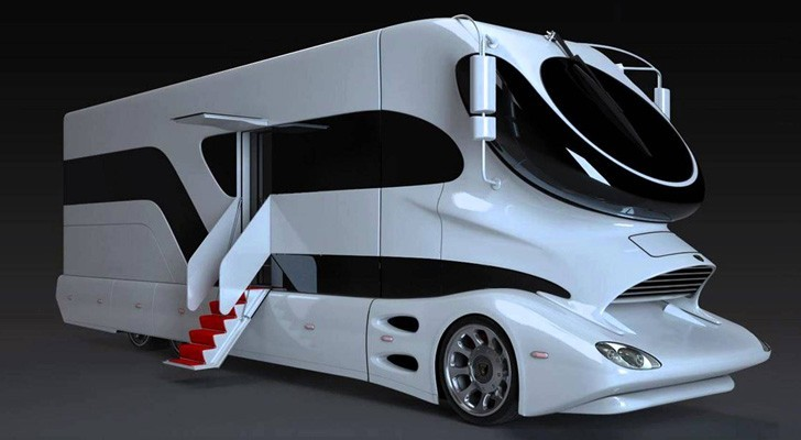De meest luxueuze camper ter wereld: een knap staaltje technologie met een adembenemend interieur
