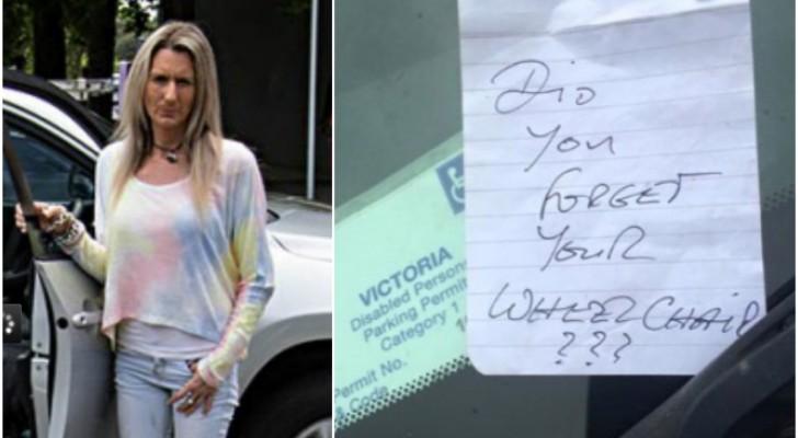 Une femme trouve un mot offensif sur sa voiture: sa réponse fait le tour du monde