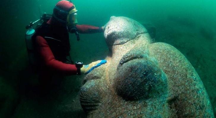 Archäologen entdecken eine komplette Stadt unter den Wassern des Mittelmeers