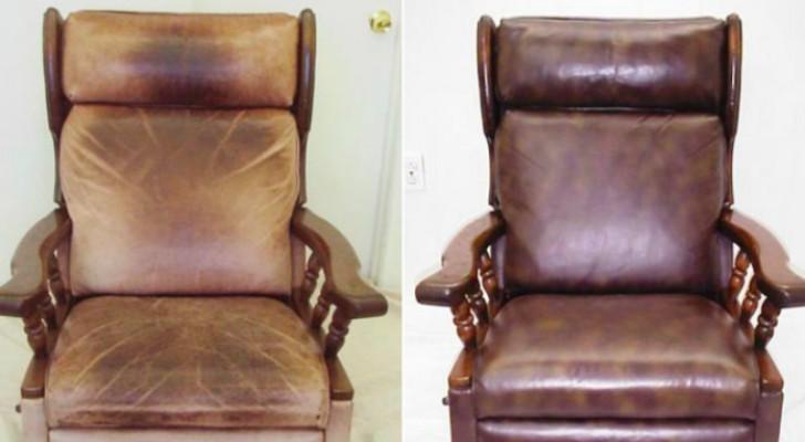 Deze oude stoel stond op het punt weggegooid te worden maar dan door deze simpele truc...