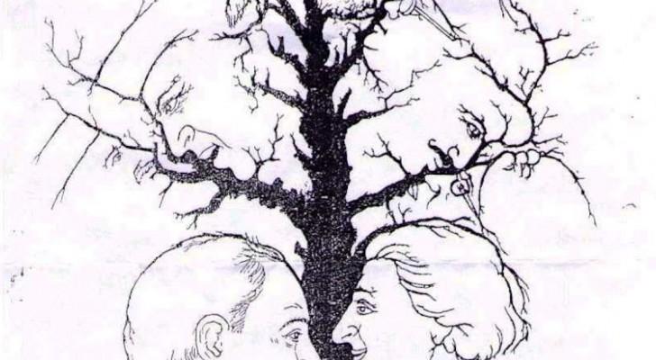 Combien de visages vous voyez dans l'image? Vous n'arriverez pas à tous les compter!