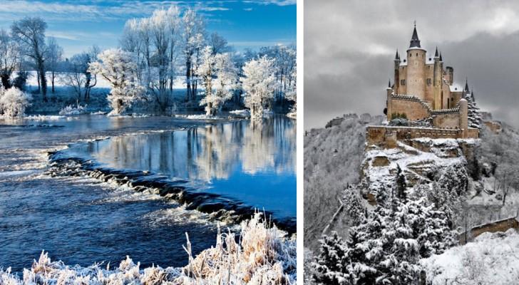Les 20 endroits sur terre où l'hiver crée des paysages les plus SPECTACULAIRES