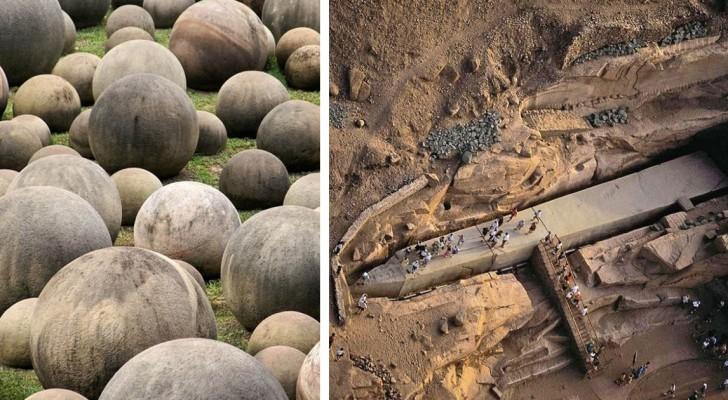 Einige archäologische Entdeckungen, die ungelöste Geheimnisse enthalten
