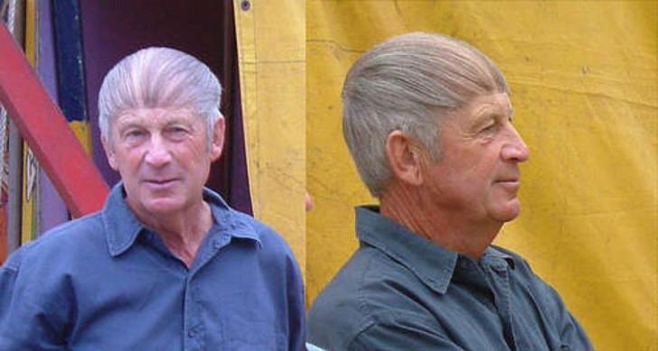12 Männer denen es besser stehen würde, ihre Glatze zu akzeptieren