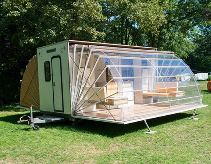 Cette caravane peut sembler bizarre, mais après avoir vu comment elle est faite, vous en voudrez une aussi