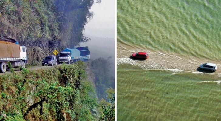Verboden ontspannen te rijden: zie hier 7 wegen die behoren tot de gevaarlijkste in de wereld