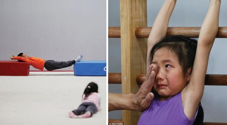 L'usine aux médailles d'or: voici comment vivent les petits athlètes chinois destinés aux Jeux olympiques