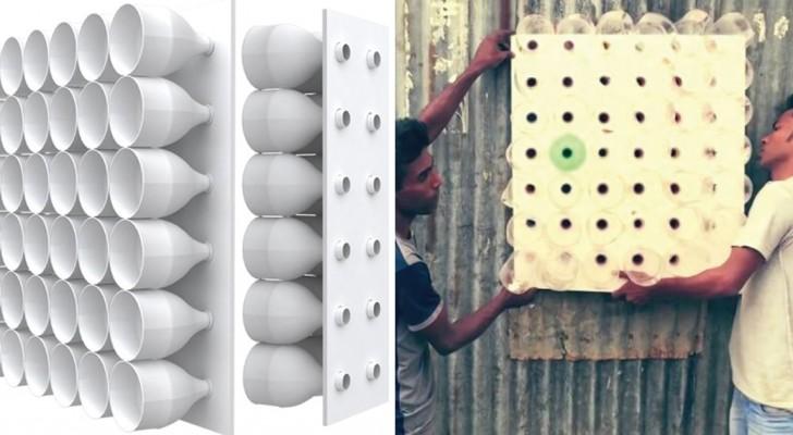 Diese Klimaanlage braucht keinen Strom und kann zum Nulltarif hergestellt werden. So gehts...