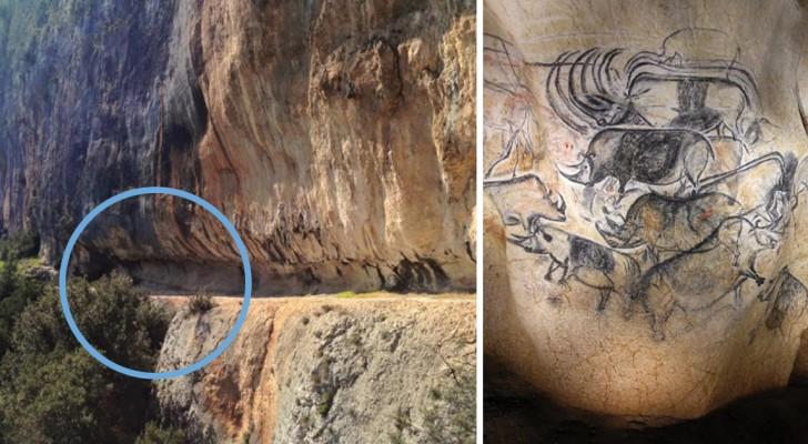 Entrano in una grotta e trovano disegni di 30.000 anni fa: la scoperta ridefinisce la storia