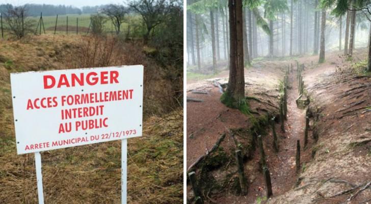 Eintritt verboten seit 100 Jahren: Das ist die unbekannte verbotene Zone in Frankreich