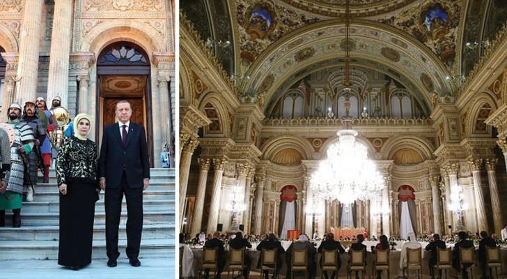Ein prunkvoller Palast und Shopping ohne Limit: Das bedeutet es, Herr und Frau Erdogan zu sein