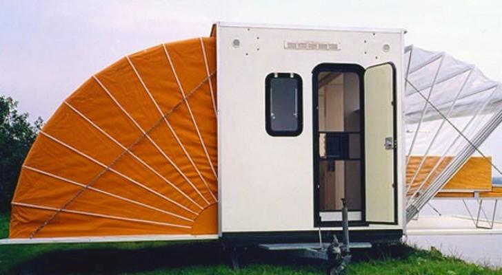 Auf den ersten Blick wirkt das Projekt dieses Campers total bescheuert, aber auf den zweiten Blick ist es genial!