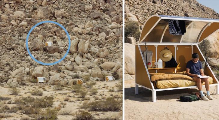 Camper... tel un alien: le charme enchanteur d'un lieu unique en son genre
