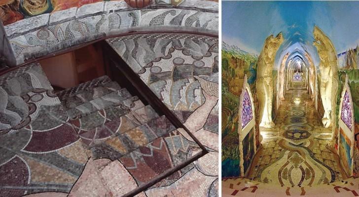 De Heuvels Van Piëmont Bevatten Een Pareltje Van Een Ondergrondse Spirituele Kathedraal Die Met De Hand Is Uitgegraven En Versierd