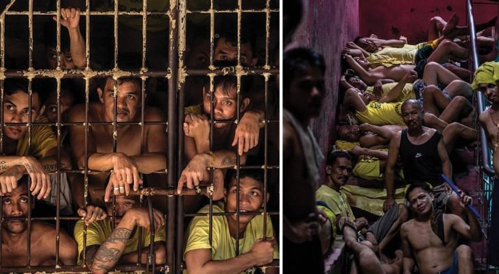 Bienvenue dans l'enfer de Quezon, la prison la plus surpeuplée du monde
