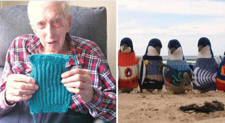 So hat der älteste Australier hunderte von Pinguinen gerettet
