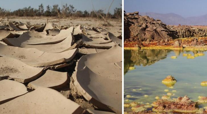 Voici l'endroit le plus chaud sur la terre: les images semblent provenir d'une autre planète